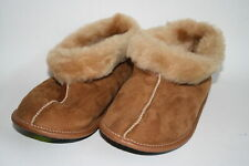 Woman's Sheepskin Slippers Calf Natural Leather Xmas Gift Idea BEST Quality 3UK