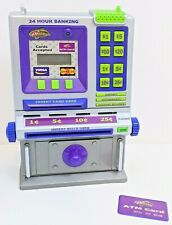 ATM Machine Bank Toy 2004 YOUniverse Summit With Balance Card Piggy Bank Safe