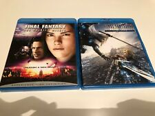 Final Fantasy blu ray blu-ray The spirits within Advent children complete