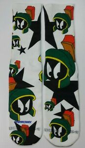 Custom Marvin dry Fit socks gamma laney X XII 7s grey