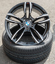 17 Zoll WH29 Alu Felgen 5x120 schwarz für BMW M Paket Performance e46 e90 e91