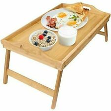 Greenco GRC2547 Bamboo Foldable Breakfast Table