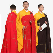 New Zen Buddhist Zuyi Kesa Cassock Robe Men Lay Monk Meditation Gown Uniform