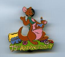 New ListingDisney Auctions Winnie The Pooh 75th Anniversary Kanga & Roo Pin Le 100