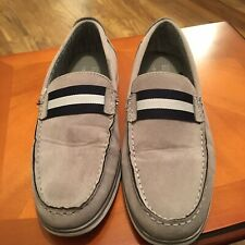 Mens  shoes size 7. Boat Shoes. Primark Make. Beige With Black Trim. Clean