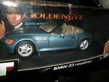 1:18 UT BMW Z3 Roadster blau/blue James Bond 007 Goldeneye in OVP