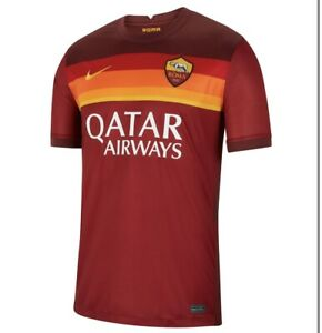 NIKE-Roma Home Jersey 20/21-Small-NWT $90 MSRP DRI Fit-SWOOSH.Ronaldo-🔥