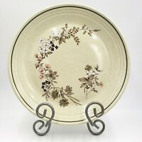 3 Royal Doulton Lambethware Bredon Hill Dinner Plates Sprig Hedgegrow Flowers