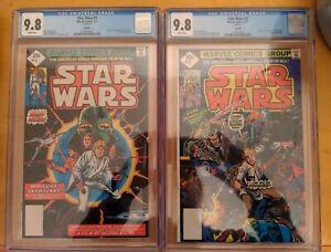 Star Wars #1 And #2 CGC 9.8 Reprint Super Rare In Grade
