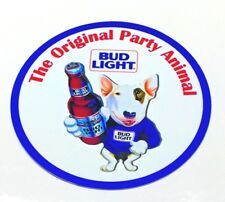 Bud Light -  Spuds MacKenzie - The Original Party Animal 7 inch Metal Sign