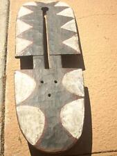 Old Large Nefana Bedu Mask Wood - Paint