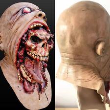 Para Hombre Máscara De Zombie Miedo Sangriento Temprano De Halloween