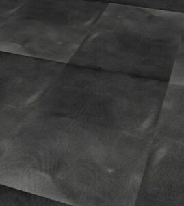 Black Smooth Concrete Stone Tile STOCK CLEARANCE   SAMPLE (200x200x2mm) G
