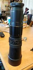 Tele Vivitar Camera Lens Made in Japan No. 67224 F = 400 mm
