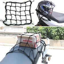Motorcycle Bicycle Luggage Rack Black Storage Elastic Net Fixed Helmet Sundries