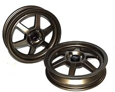 Traklite Launch Wheels Drag Racing 4x100 +10 15x3.5 Bronze for Honda/Acura/Miata