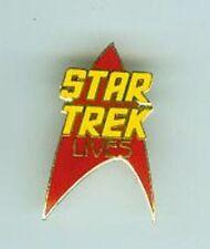 Star Trek Lives Pin (USA)