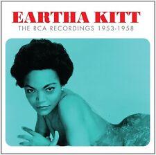 EARTHA KITT THE RCA RECORDINGS 1953 - 1958 - 3 CD BOX SET