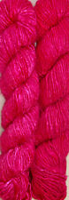 1000 Grams.Himalaya Recycled Violet Red Soft Sari Silk Yarn Knit Woven 10 Skeins