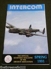 AIRCREW ASSOCIATION - INTERCOM - SPRING 1991
