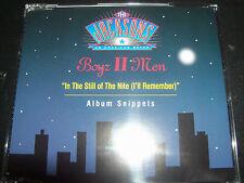 Boyz II Men In The Still Of The Nite (The Jacksons) Rare German CD Single