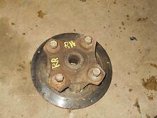 arctic cat 500 manual automatic 400 right rear rh wheel hub brake disc back 2004