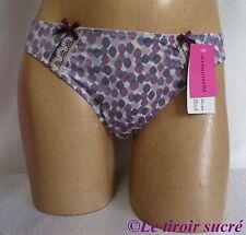 PASSIONATA string FR 42 EUR 40 USA M violet lingerie neuf avec étiquettes