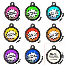 Fun Cool Pet ID Tags Dog Puppy Name ID Tag For Collar Personalised Pet Tags