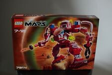 LEGO LIFE ON MARS 7314 RECON MECH RETIRED BRAND NEW SEALED WITH ACTUAL PHOTOS