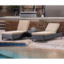 Belmont 3-piece Chaise Lounge Set (Tan Color)