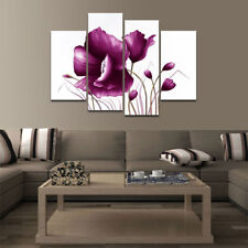CHENPAT280 3pcs flower decor art 100/% hand-painted art oil painting on  canvas