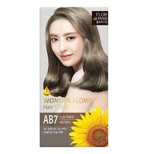 Somang Flor De Man Wonder Flower Hair Color [ Smoky Ash - AB7 ] No PPD and Ammon