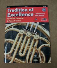 F Horn Tradition Of Excellence Book 1 Cd Included *Brand New*