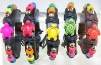Turtle / Tortoise Synthetic Leather Bracelet Surfer Closing Adjustable Unisex