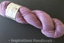 ROWAN Fine Art Knitting Crochet Yarn 4 ply 002 Otter Lilac 1 Hank  (100gm)