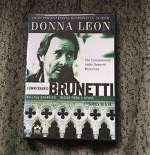 Donna Leon's Commissario Guido Brunetti Mysteries Episodes 13 & 14 On DVD