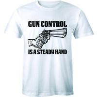 Gun Control Shirt is a Steady Hand 2nd Amendment Rights Trump USA Rights Second