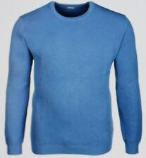 GANT Pullover Solid Textured Crew in Blue Ocean  Größe S  Neu mit Etikett