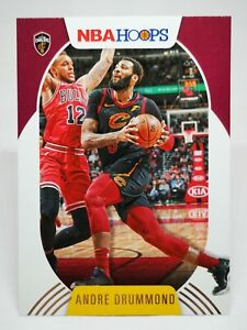 Panini Hoops 2020-21 N25 card NBA base #22 Andre Drummond Cleveland Cavaliers