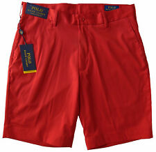 Men's POLO RALPH LAUREN Red Shorts Stretch Classic Fit 33 NWT NEW Performance