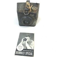 VINTAGE Kodak Brownie Special SIX-20 Camera With Manual Made in USA