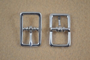 "Buckle, Bar - 1/2"" - Nickel Plated - Pack of 50 (F325)"