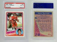 PSA 9 STEVE YZERMAN ROOKIE 1984 TOPPS MINT 1984-85 DETROIT RED WINGS CARD #49