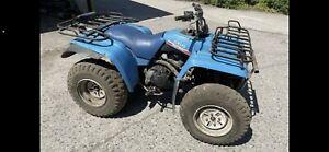 Yamaha Big Bear 350 4x4 breaking