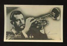 Music EDDIE CALVERT Trumpet Player Signed Photo