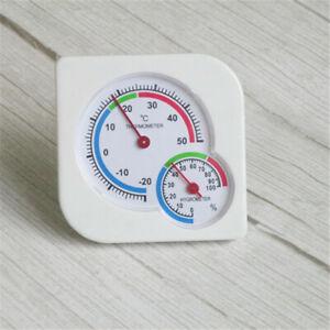 Indoor Outdoor Thermometer Mini Wet Hygrometer Garden Room Temperature Sensor