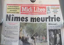 midi Libre n° 15,736 05/10/1988
