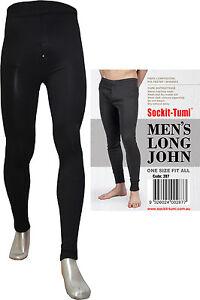 Men's Long John Black
