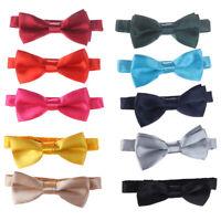 Boys Quality Bow Ties Boys Adjustable Bow Tie Kids Prom Dot Bow Tie Children  SL