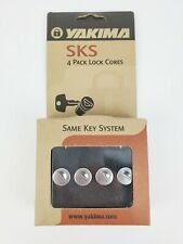 YAKIMA SKS 4 PACK LOCK CORES AND KEYS #07204, Core A154 NEW!